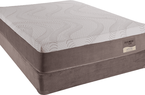 comfortable night's sleep on a restonic mattress