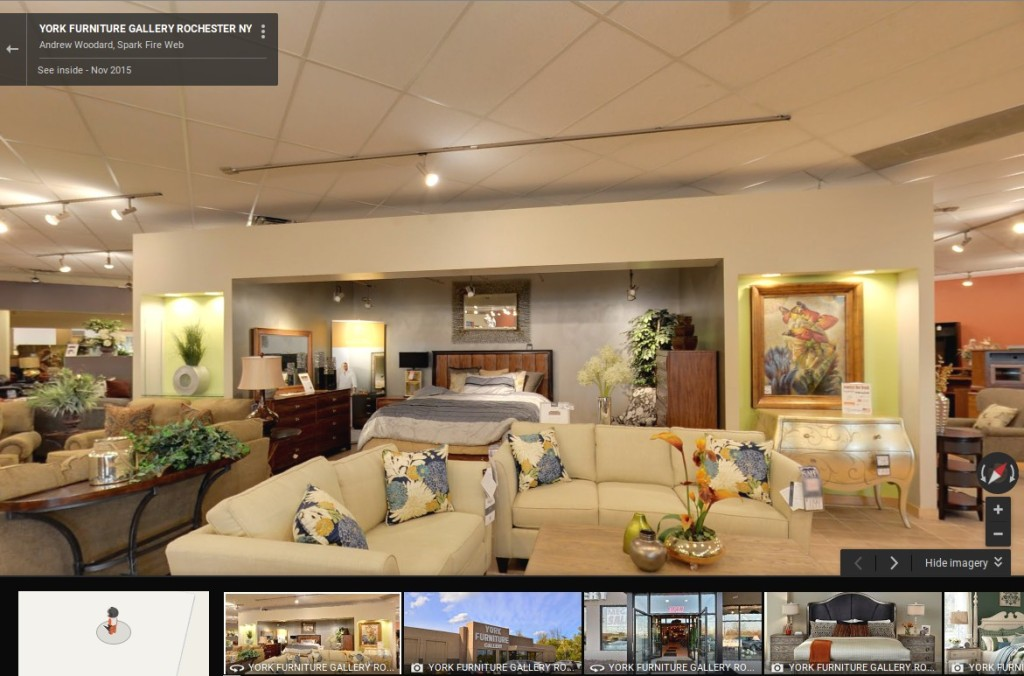 rochester furniture store virtual tour