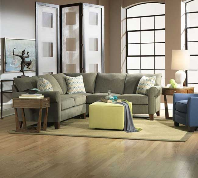 Broyhill sectionals, living room furniture,