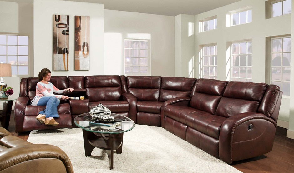 Leather sectionals, leather recliners, leather sofas
