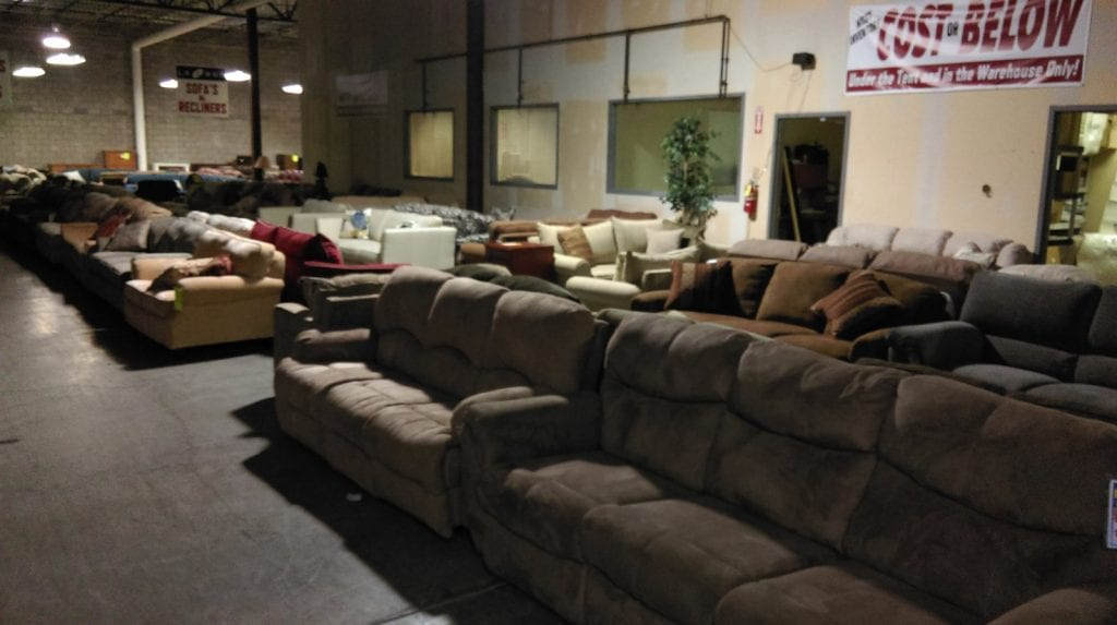 below cost sale on furniture near me