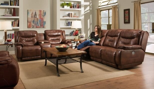 leather recliners, leather sofa, living room furniture,