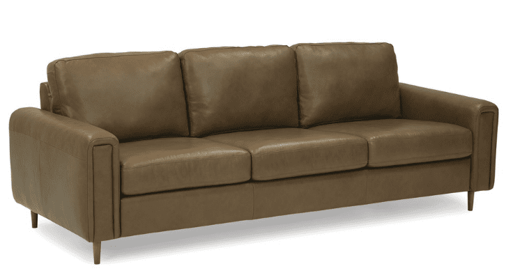 Leather Couch, Leather sofa, living room furniture,
