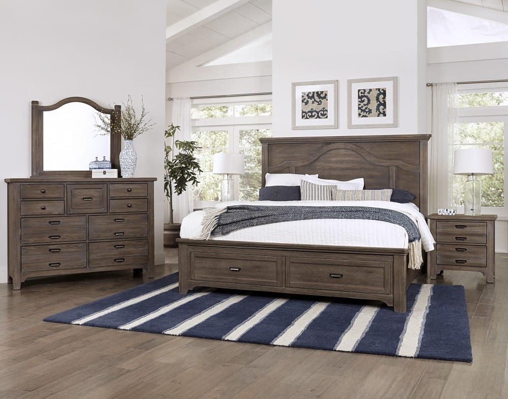 solid wood made in America bedroom set